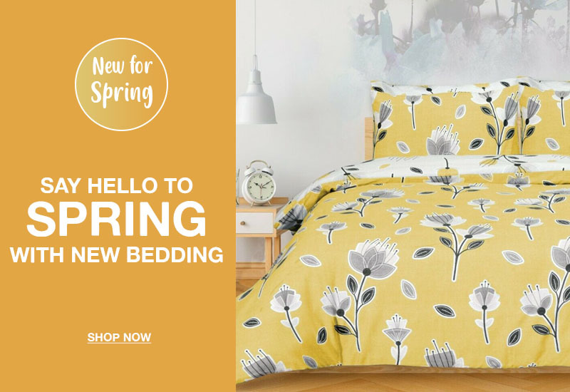 Refresh your bedroom with our new bedding range!