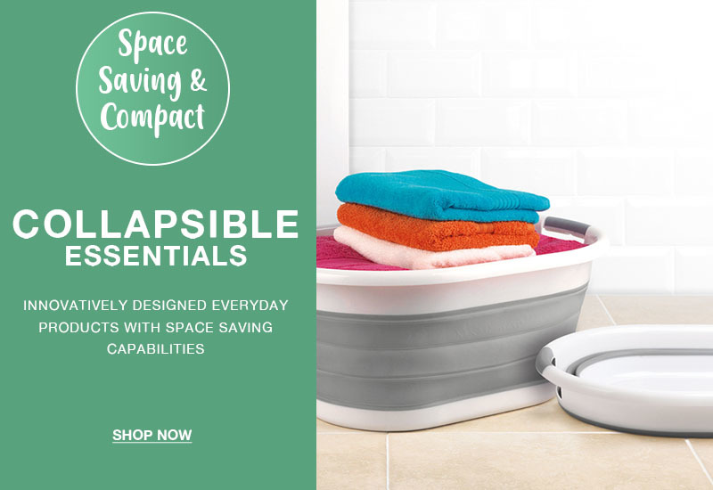 Shop our space saving collapsible range!