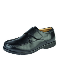 LIGHTWEIGHT TOUCH FASTEN LEATHER SHOE