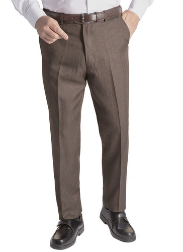 Active Waist Tweed Effect Trouser
