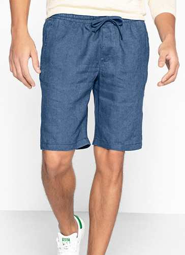 Denim Easy Pull On Shorts