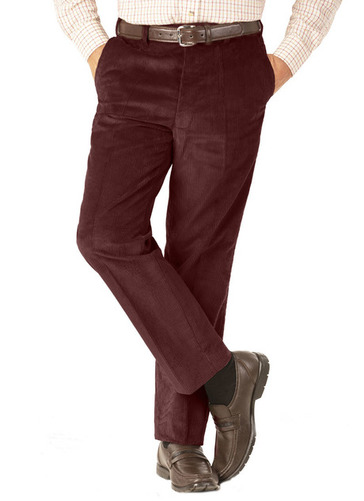 MAGIC WAIST CORDUROY TROUSERS