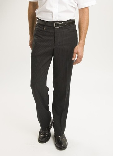 Classic Fit Flat Front Trouser