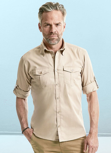 Long Sleeve Cargo Shirt