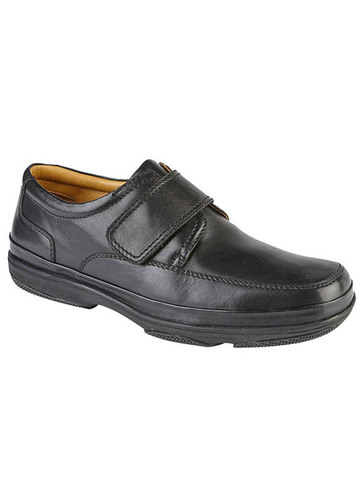 WIDE FIT SOFT LEATHER SHOES