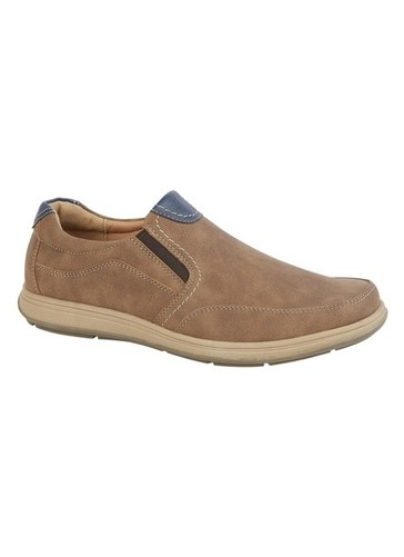 Cushion Comfort Sole Slip On Shoe