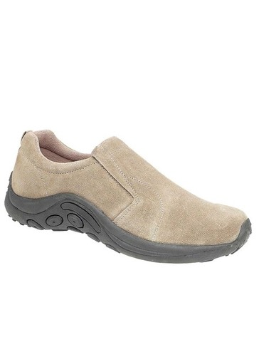 Suede Comfort Slip On Shoe