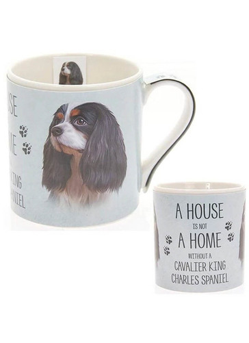 Mans Best Friend Fine China Mug