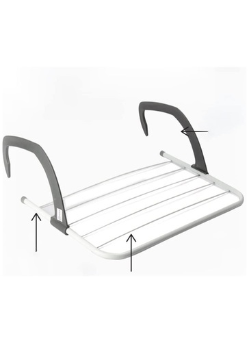 5 BAR RADIATOR AIRER DRYER