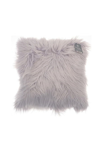 Faux Fur Long Pile Design Filled Cushion