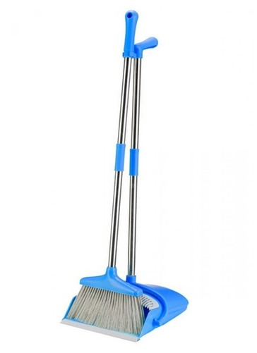 Long Handled Dustpan And Brush Set