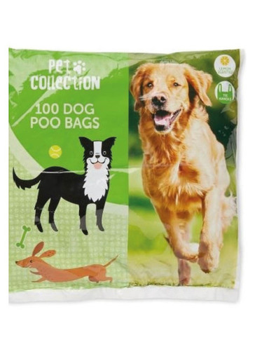 Lemon Scented Dog Poo Bags