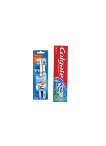 Colgate Toothpaste & Oral B Tooth Brush