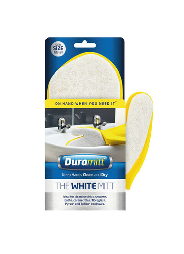 White Cleaning Mitt