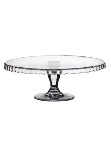 Large Glass Cake Stand 28cm