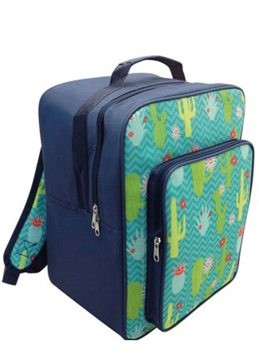 Cactus Design Backpack Cooler Bags