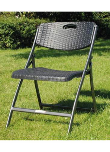 FOLDABLE CHAIR BLACK