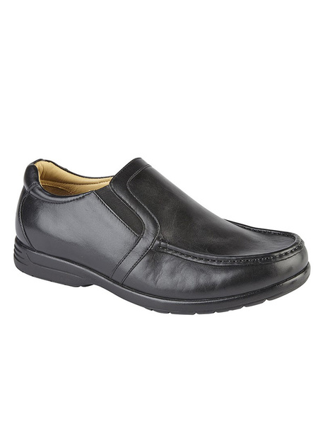 LIGHTWEIGHT LEATHER SLIP ON SHOE