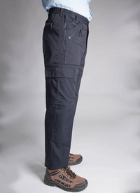 MULTI POCKET FLEECE LINED ACTION TROUSER